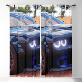 Highway Police Patrol Challenger Demon color photograph / photography / poster Blackout Curtain