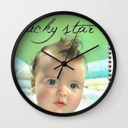 Lucky star Wall Clock
