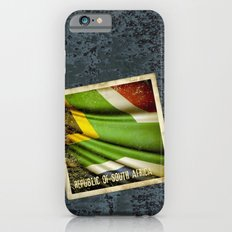 South Africa grunge sticker flag Slim Case iPhone 6s