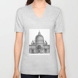 St. Peter Basilica - Rome, Italy Unisex V-Neck
