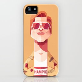 Brad Pitt (Once upon a time in Hollywood). iPhone Case