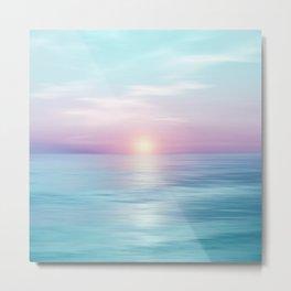 Calm sunset Metal Print