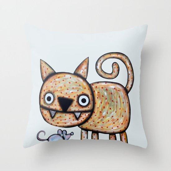Secret meeting Throw Pillow