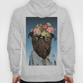 Dog flower Hoody