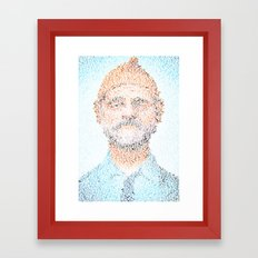 The Aquatic Steve Zissou Framed Art Print