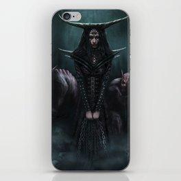 Queen of Ghouls iPhone Skin