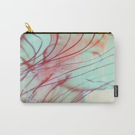 Pink Jellyfish Carry-All Pouch
