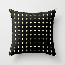 Christian Cross 43 Throw Pillow