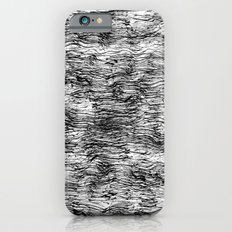 Black Pattern#4 iPhone 6s Slim Case