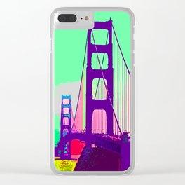 Golden_Gate_Bridge_005 Clear iPhone Case