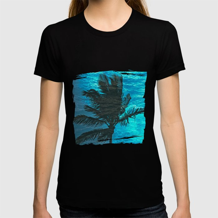 SWIMMING PALM T-shirt
