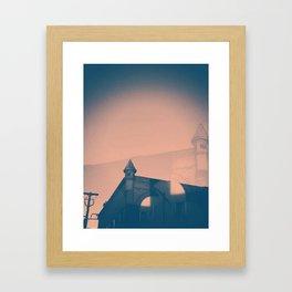 Shadow Castle Framed Art Print