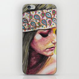 Dreaming of a new world iPhone Skin
