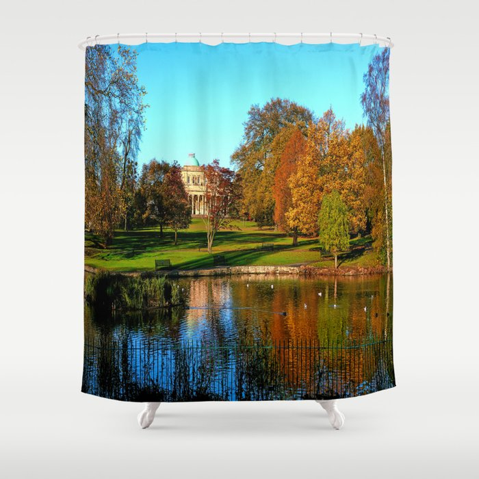 Colourful Pittville Shower Curtain