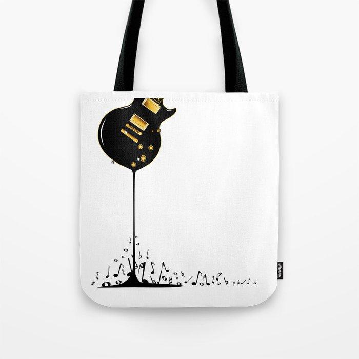 Flowing Music Tote Bag