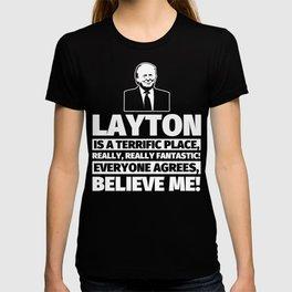 Layton Funny Gifts - City Humor T-shirt
