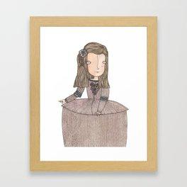 Menina Framed Art Print