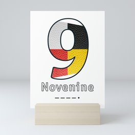 Novenine - Navy Code Mini Art Print