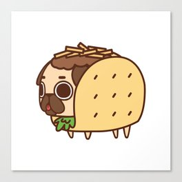 Puglie Taco Canvas Print