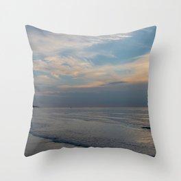 Sea panorama Throw Pillow