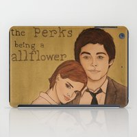 the perks of being a wallflower iPad Cases featuring The Perks of Being a Wallflower by Gillian Head