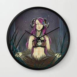 Zen Fawn Wall Clock