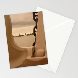 Pearl Harbor Memorial Anchor Stationery Cards