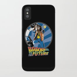 Bark to the Future iPhone Case