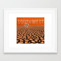 southwest Framed Art Prints featuring Southwest by Phil Perkins