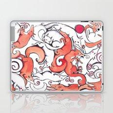 Fox Pattern Laptop & iPad Skin
