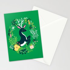 Festive Deer Stationery Cards