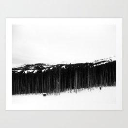 Breck Art Print