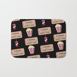 Let's Go to the Movie theatre Bath Mat