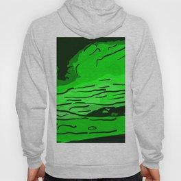 abstract style aurora borealis absde Hoody
