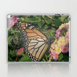Monarch Butterfly Abstract Laptop & iPad Skin