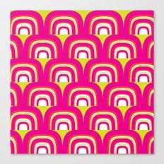 Mod Rainbow Canvas Print