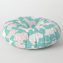 Animal Cookies Floor Pillow