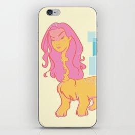 Fluff Girl iPhone Skin