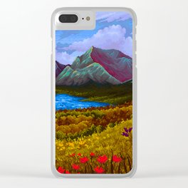Mountain v2 Clear iPhone Case