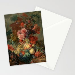 "Jan van Huysum ""Fruit Piece"" Stationery Cards"