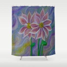 Mystic Flora Shower Curtain