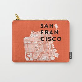 San Francisco Map 04 Carry-All Pouch