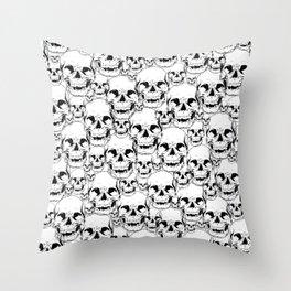 So Many Skulls... Throw Pillow