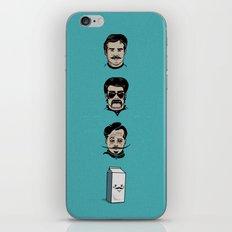 Mustache Club iPhone & iPod Skin