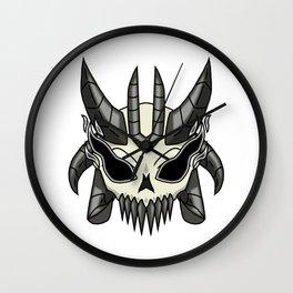 Primeval Chaos Skull Wall Clock