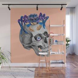 Skull Spider Wall Mural