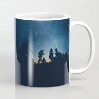 astronomy Mugs featuring Follow the stars by HappyMelvin