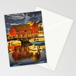 Motif Number 1 , Bearskin Neck, Rockport MA Stationery Cards