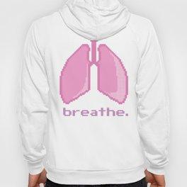 Breathe. Pixelated Lungs Hoody