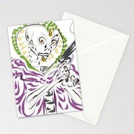Dia de los Muertos Serpent Kingpin Stationery Cards